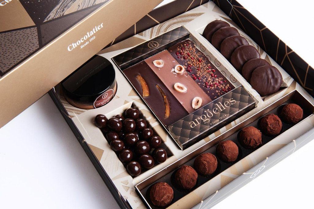 Caja Argüelles Selection - chocolate online de regalo - Arguelles chocolatier